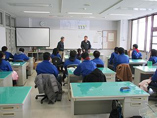三条テクノスクールにて講習会を行いました
